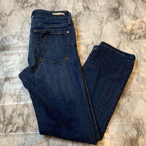 Anthro Pilcro and the Letterpress Denim Crop Jeans